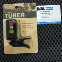 DAddario PW-CT-17BK - Eclipse Tuner-Tuner Gitar dan Bass Original USA