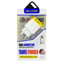 Wellcomm Travel Charger Iphone USB 2.1A