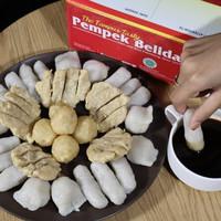Pempek Mpek Mpek Belida Asli Palembang Pax A - Campur isi 8 pcs