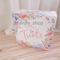 Cake Box 22 x 22 x 9 Sweet Treats / Box Tart / Dus Kue Bolu