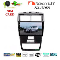 "NAKAMICHI NA-3102i Android 9"" NEW AVANZA 2019 Head Unit Double Din"