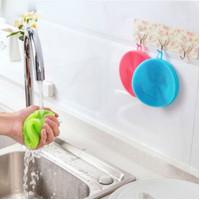 Silicone Dish Washing Sponge Brush Scrub Antibacterial