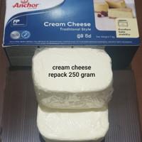 cream cheese anchor repack 250 gram