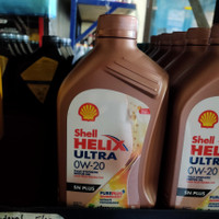 Oli Shell Helix Ultra 0W20 SN Plus 1 LITER