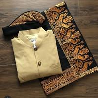 Baju Safari saput udeng pakaian adat bali pria