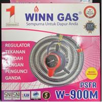 Selang Regulator LPG Winn gas tipe w 900 meter. TRIPLE LOCK