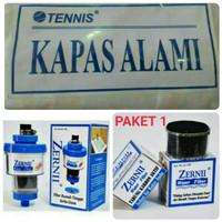 PAKET 1 Filter Zernii , Karbon Aktif dan kapas