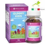 Wellness Gummy Kids Multivitamin 70 Gummy Bears BPOM