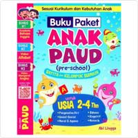 Buku Paket Anak PAUD Pre School BATITA Dan Kelompok Bermain