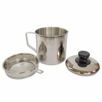Tempat Penyaring Bekas Minyak Goreng/oil pot 1,1 liter