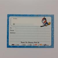 sticker pengiriman olshop