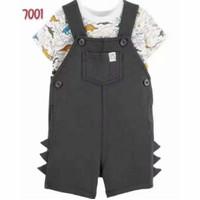 Overall bayi laki laki murah lucu / setelan baju anak cowo