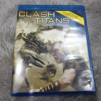 Blu ray Clash of the Titans Reg A US - Second
