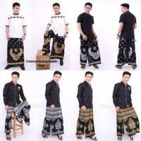 celana sarung batik gunungan prodo - Wayang Emas, All Size