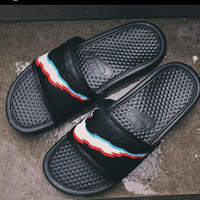 Nike sandals/Sendal Nike 3D Original not champion, adidas, tnf
