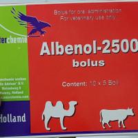 albenol 2500 - obat cacing sapi dan kambing