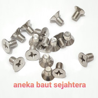 Baut JF (+) M6x10 Stainless Steel