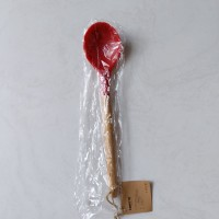 Carote Silicon Spatula /Sutil Sendok Kayu Merah