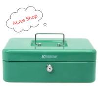 KRISBOW - CASH BOX 25Cm - Hijau