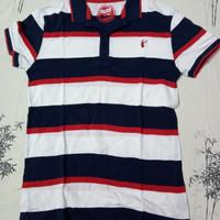 "Baju Polo shirt anak "" Blue Zoo "" size 12-13 years Preloved / Bekas"