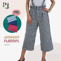 Celana Jumpsuit Anak Perempuan / Kulot Anak Perempuan Usia 7-16 Tahun