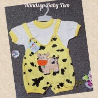 Baju kodok anak/baju bayi/overall hansop tom