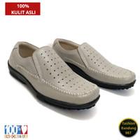 Sepatu kasual pria Original kulit asli sepatu santai pria terbaru