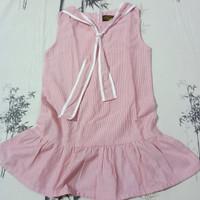Dress Anak Sailor Pink Preloved / Bekas