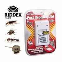 Riddex Merah Pest Repeller Aid Plus Control / Alat Pengusir Tikus Nyam