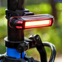 Lampu Sepeda LED Rechargeable USB New Model
