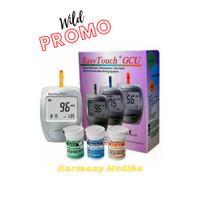 Alat Cek Gula Asam Urat Kolesterol Easy Touch GCU 3 in 1 Easytouch