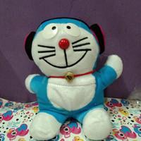 Boneka Doraemon pakai Headset - Tinggi 22cm