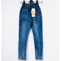 Celana Panjang Jeans Denim Anak Perempuan Impor 11-12 Tahun