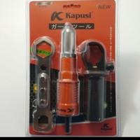 Rivet gun adapter elektrik adaptor tang rivet pada mesin bor