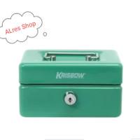 KRISBOW - CASH BOX 15Cm - HIJAU
