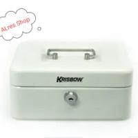 KRISBOW - CASH BOX 20Cm - PUTIH