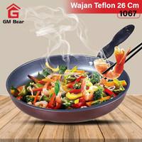 BNGM Bear Wajan Teflon 26 CM 1067-Fry Pan 26cm