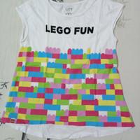 Kaos anak Uniqlo Lego edition Preloved / Bekas