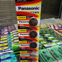 Baterai Battery Jam Tangan Remot CR2032 Panasonic