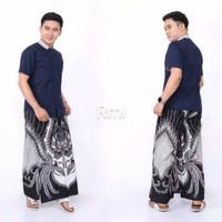sarung celana batik moderen - Prenjak Abu, All Size