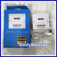 HDMI to AV RCA Converter Konektor MINI