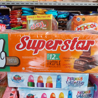 Wafer Superstar 1 box isi 12 pcs [READY]
