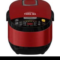 Yong Ma Rice Cooker/Magic Com Digital 2.0 Liter SMC-7047(Merah)