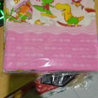 1/2 Lusin Bedong 90, Bedong Kotak / Selimut Bayi Katun Flanel 90 x 90