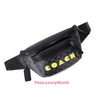 COACH X PACMAN TERRAIN BELT BAG CANVAS - ORIGINAL 100%