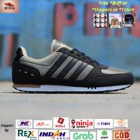 Sepatu Adidas Neo City Racer Green List Black Original