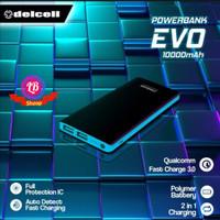 Power bank Delcell EVO 3.0A 10000mAh RealCapacity Garansi Resmi