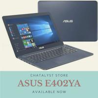 Laptop Murah SSD / HDD Asus E402YA Ram 4GB Radeon R2 14HD Win 10