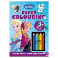 Buku Mewarnai Disney Frozen Super Coloring Activity Book