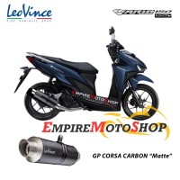 Knalpot Leovince Honda Vario 150 GP Corsa Carbon Fullsytem